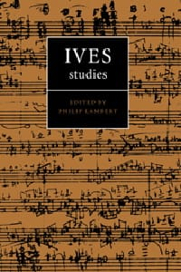 Ives studies - Philip LAMBERT - Livre - Les Hommes - laflutedepan.com