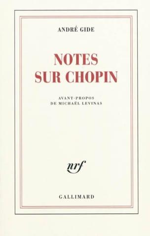 Notes sur Chopin - André GIDE - Livre - Les Hommes - laflutedepan.com