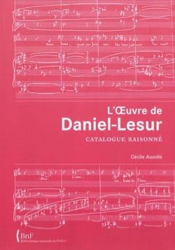 L'oeuvre de Daniel-Lesur : catalogue raisonné - laflutedepan.com
