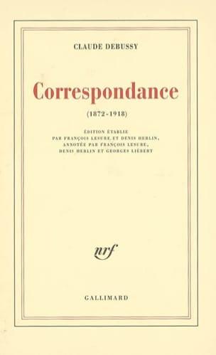 Correspondance : 1872-1918 DEBUSSY Livre Les Hommes - laflutedepan