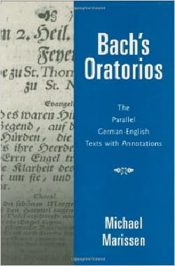 Bach's oratorios : the parallel German-English texts, with annotations laflutedepan