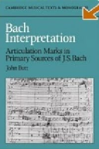 Bach interpretation - John BUTT - Livre - laflutedepan.com