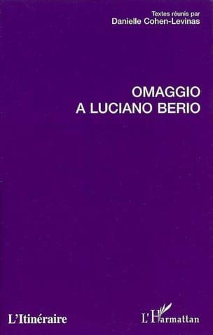 Omaggio a Luciano Berio Collectif Livre Les Hommes - laflutedepan