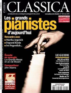 Classica : les grands pianistes d'aujourd'hui - laflutedepan.com
