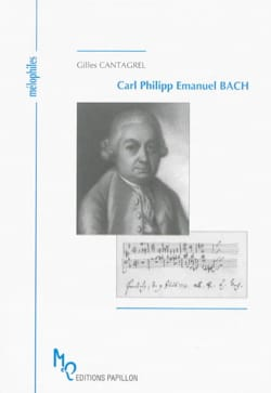 Carl Philipp Emanuel Bach Gilles CANTAGREL Livre laflutedepan