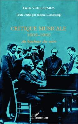 Critique musicale, 1902-1960 : au bonheur des soirs - laflutedepan.com