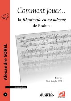 Comment jouer... la Rhapsodie en sol mineur de Brahms - laflutedepan.com