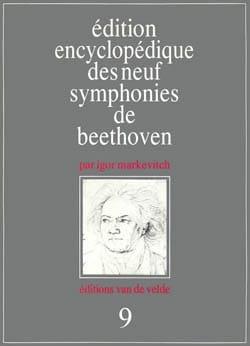 Edition encyclopédique des neuf symphonies de Beethoven : n° 9 laflutedepan