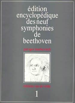 Edition encyclopédique des neuf symphonies de Beethoven : n° 1 laflutedepan