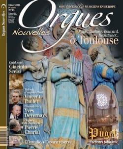 Orgues Nouvelles, n° 23 - Hiver 2014 Revue Livre Revues - laflutedepan