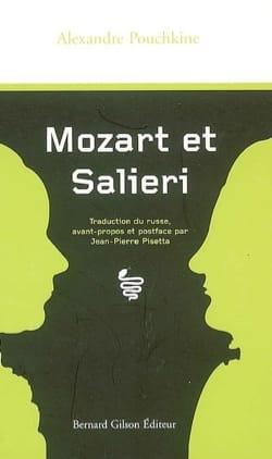 Mozart et Salieri - Alexandre POUCHKINE - Livre - laflutedepan.com