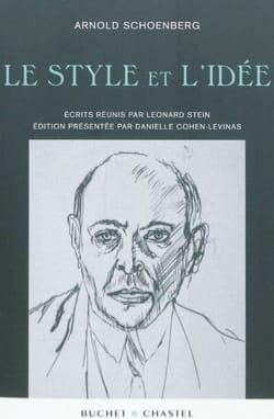Le style et l'idée SCHOENBERG Livre Les Hommes - laflutedepan
