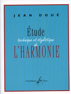 Jean DOUÉ - Technical and stylistic study of harmony - Book - di-arezzo.co.uk