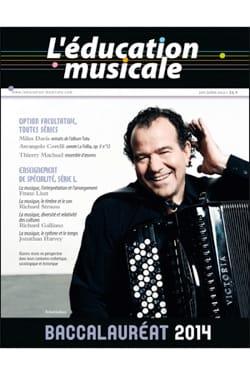 L'éducation musicale : Baccalauréat 2014 Revue Livre laflutedepan