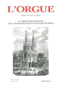 Revue - L'Orgue, n° 278-279 (2007/II-III) - Livre - di-arezzo.fr