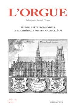 L'Orgue, n° 291 (2010/III) Revue Livre Revues - laflutedepan