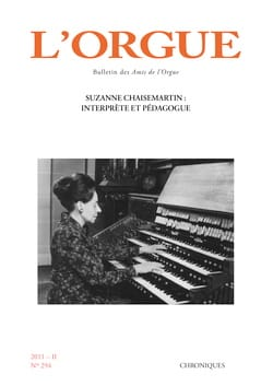 Revue - L'Orgue, n° 294 (2011/II) - Livre - di-arezzo.fr
