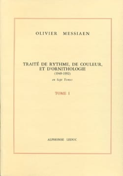 Olivier MESSIAEN - Treatise on rhythm, color and ornithology - Volume 1 - Book - di-arezzo.co.uk