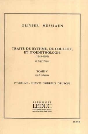 Traité de rythme, de couleur et d'ornithologie - Tome 5 vol. 1 laflutedepan