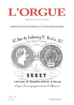 Revue - L'Orgue, n° 292 (2010/IV) - Livre - di-arezzo.fr