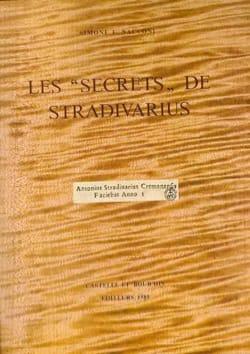 Les Secrets De Stradivarius SACCONI Simone F. Livre laflutedepan