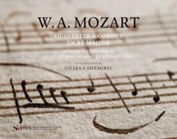 Quintette à cordes en ré majeur - MOZART - Livre - laflutedepan.com