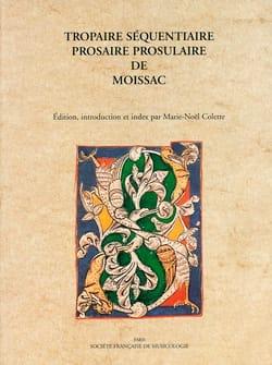 Tropaire séquentiaire COLETTE Marie-Noël Livre laflutedepan