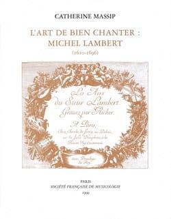 L'art de bien chanter : Michel Lambert (1610-1696) - laflutedepan.com