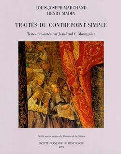 Traités du contrepoint simple MARCHAND Louis-Joseph Livre laflutedepan