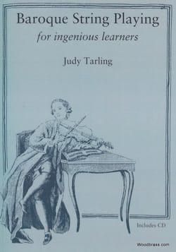 Baroque string playing - Judy TARLING - Livre - laflutedepan.com