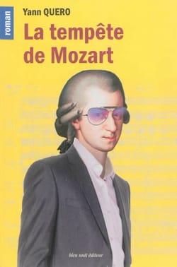 La tempête de Mozart Yann QUERO Livre laflutedepan