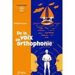 De la voix en orthophonie Isabelle AMMANN Livre laflutedepan