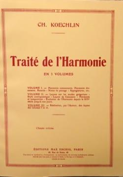 Charles KOECHLIN - Traité de l'harmonie vol. 3 - Livre - di-arezzo.fr