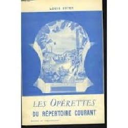 Les opérettes du répertoire courant Louis OSTER Livre laflutedepan