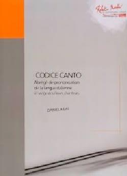 Daniela LAI - Abrégé de prononciation de langue italienne pour chanteurs - Livre - di-arezzo.fr