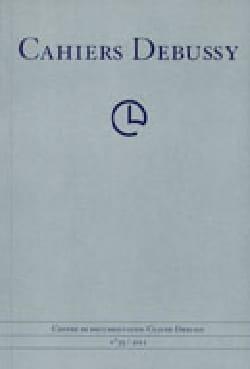 Cahiers Debussy, n° 36 Collectif Livre Les Hommes - laflutedepan