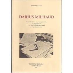Darius Milhaud - Paul COLLAER - Livre - Les Hommes - laflutedepan.com