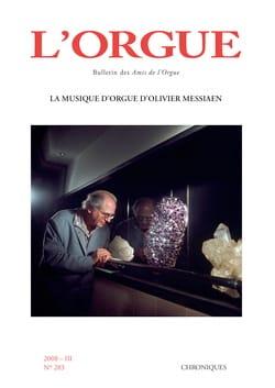 L'orgue, n° 283 (2008/III) Revue Livre Revues - laflutedepan