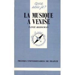Musique à Venise - Nanie Bridgman - Livre - laflutedepan.com