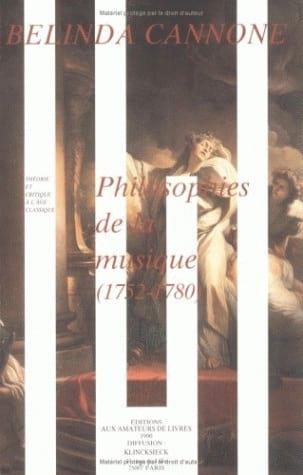 Philosophies de la musique : 1752-1789 - laflutedepan.com