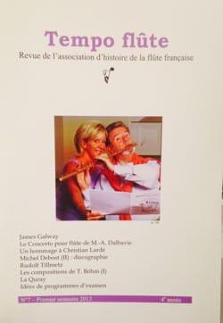 Revue - Tempo flute n ° 7 (First half of 2013) - Book - di-arezzo.com