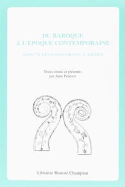 Du Baroque à l'époque contemporaine : aspects des instruments à archet - laflutedepan.com