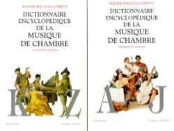 Walter Willson - Dictionnaire encyclopédique de la musique de chambre - Livre - di-arezzo.fr