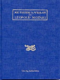 Méthode de violon Leopold MOZART Livre Les Instruments - laflutedepan