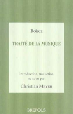 Traité de la musique - BOÈCE - Livre - laflutedepan.com