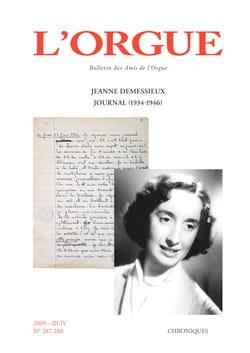 L'Orgue, n° 287-288 (2009/III-IV) Revue Livre laflutedepan