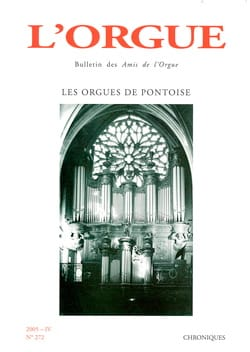 L'Orgue, n° 272 (2005-IV) Revue Livre Revues - laflutedepan