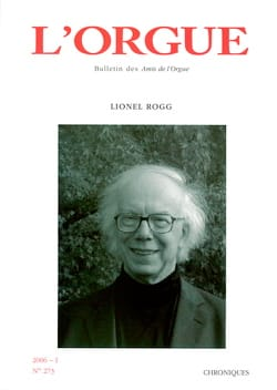 Revue - L'orgue, n° 273 (2006/I) - Livre - di-arezzo.fr