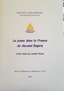 Le piano dans la France du Second Empire - laflutedepan.com