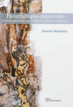 Heuristique musicale Ricardo MANDOLINI Livre laflutedepan